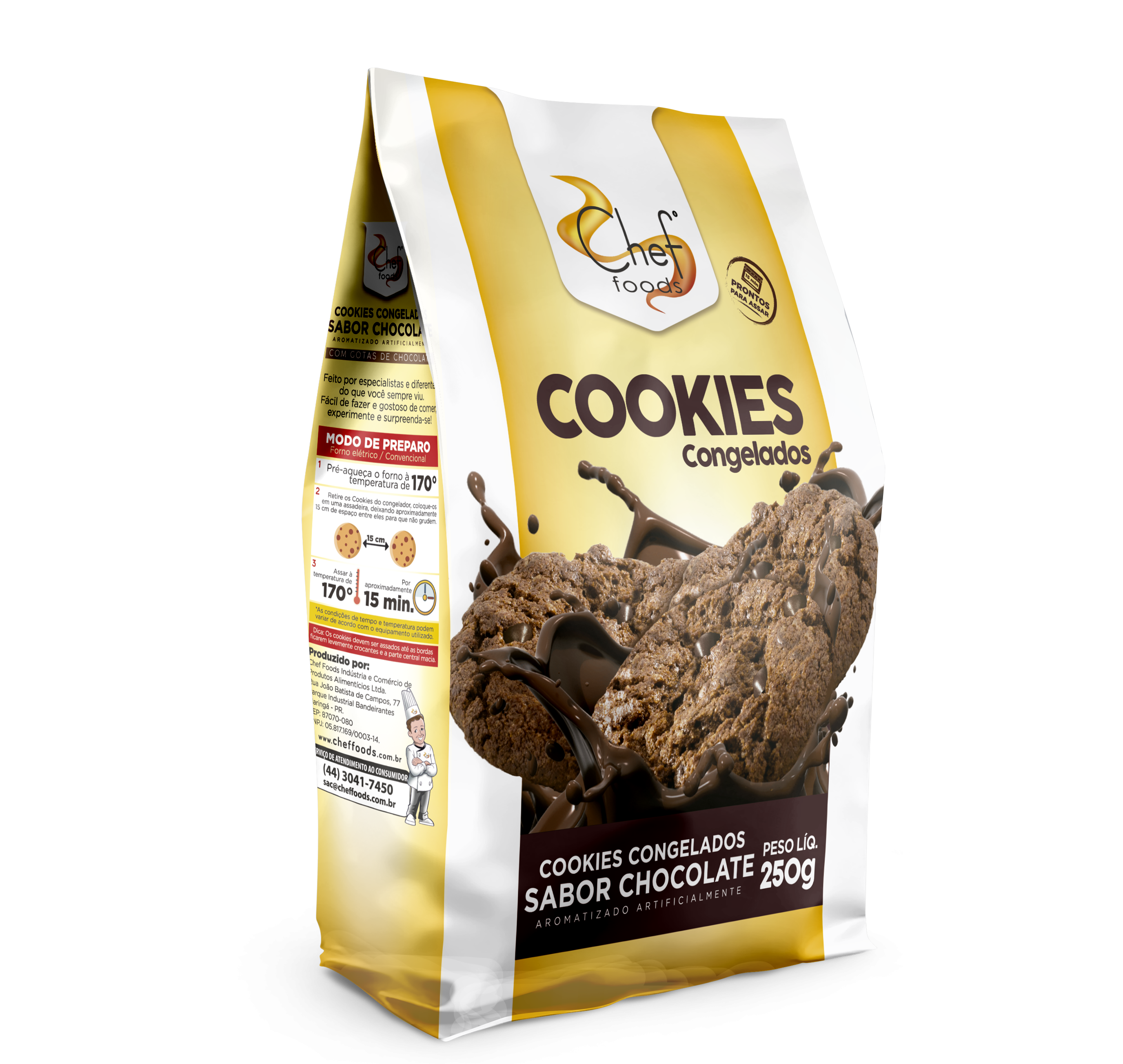 Cookies Chocolate 250g